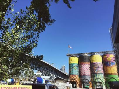 Granville Island's Cement plant silos