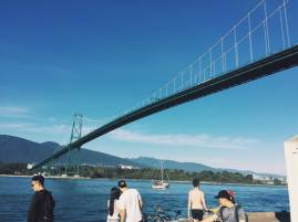 The Lions Gate Bridge