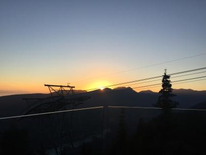 Grouse Mountain Sunset