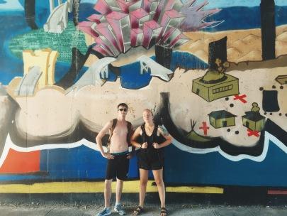 Mackenzie & I post paddleboarding
