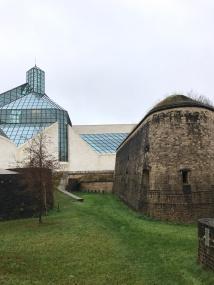 Museum Drai Eechelen and The Modern art Museum (right)
