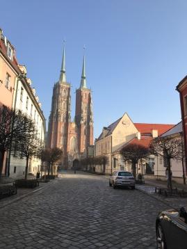 Katedra św. Jana Chrzciciela on Ostrow Tumski (Cathedral Island)