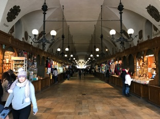 Inside Cloth Hall