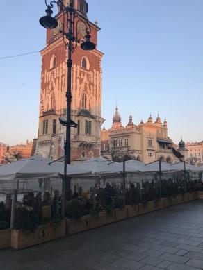 Cloth Hall on Krakow Main Square