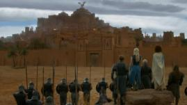How the village appears in GoT with the help of CGI